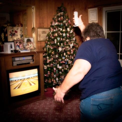 Nancy Wii Bowling